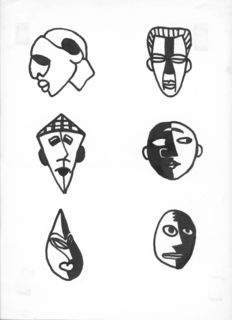 Masks (after Picasso) (long after Picasso)