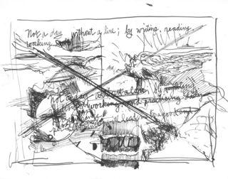 Drawing (after Van Gogh)